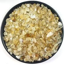 Load image into Gallery viewer, 100g 2 size Natural Citrine Stone Rock Polished Gravel Specimen