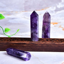 Load image into Gallery viewer, Natural Amethyst Point Crystal 50-80mm