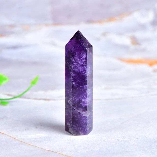 Natural Amethyst Point Crystal 50-80mm