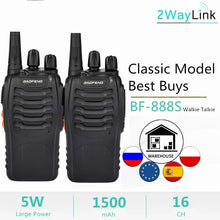 Load image into Gallery viewer, 1PC or 2PCS Baofeng BF-888S Two Way Radio Baofeng 888 Walkie Talkie