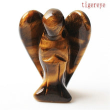 Load image into Gallery viewer, 1.5inch Natural Crystal Angel goddess Statue Decor Figurine