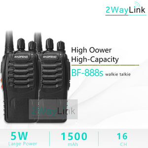 1PC or 2PCS Baofeng BF-888S Two Way Radio Baofeng 888 Walkie Talkie