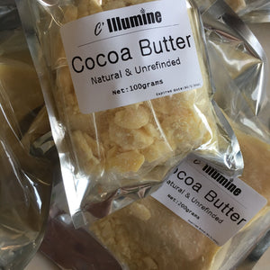 Cocoa Butter 100% Pure Natural Raw cacao