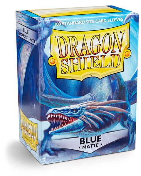 Dragon Shield 100ct Box Deck Protector Matte Blue