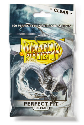 Dragon Shield 100ct Bag Perfect Fit Clear