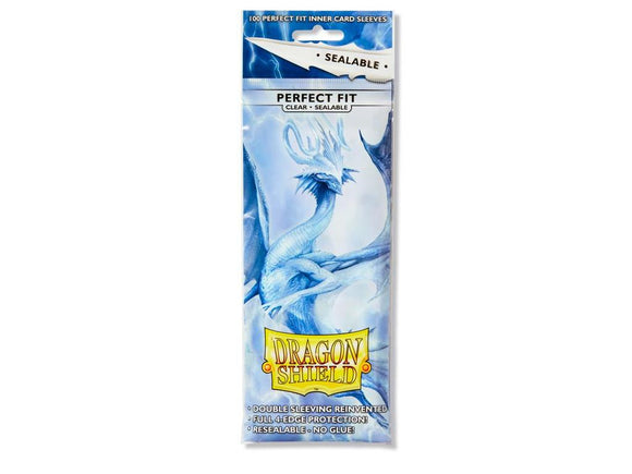 Dragon Shield 100ct Perfect Fit Sealable Clear