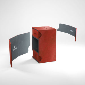 Gamegenic Deck Box Watchtower 100+ Red