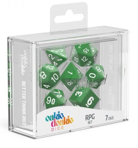 Oakie Doakie: RPG Set Solid - Green