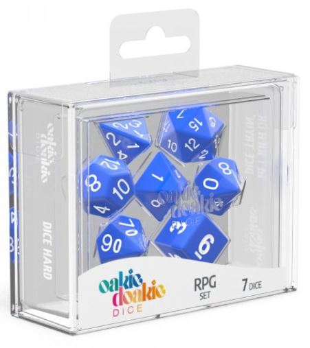Oakie Doakie: RPG Set Solid - Blue