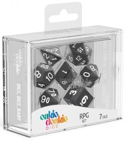 Oakie Doakie: RPG Set Solid - Black