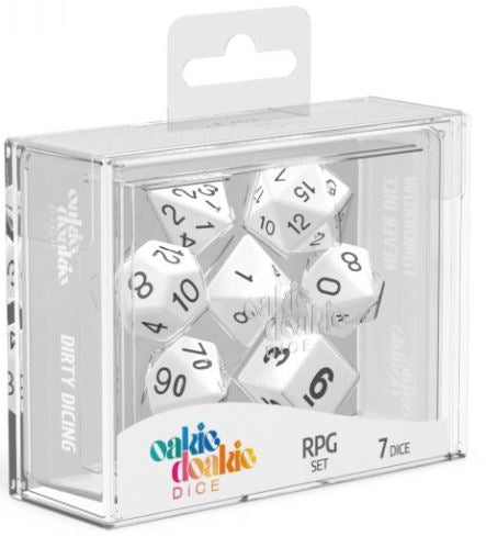 Oakie Doakie: RPG Set Solid - White