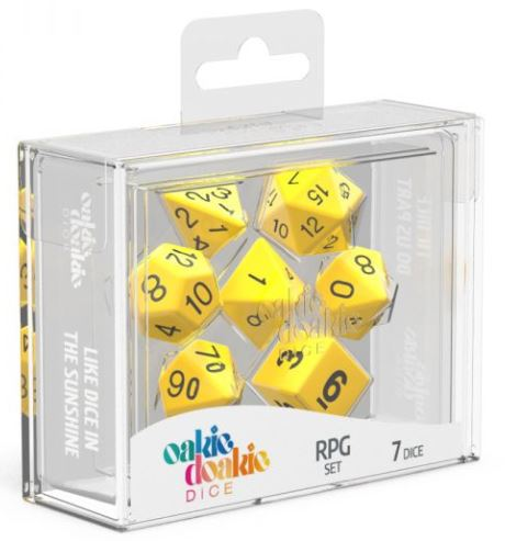 Oakie Doakie: RPG Set Solid - Yellow