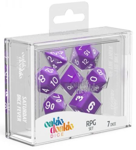 Oakie Doakie: RPG Set Solid - Purple