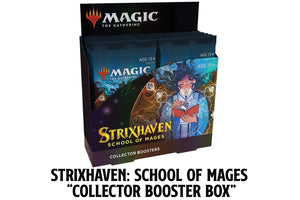 Magic - Strixhaven Collector Booster Box *PREORDER*