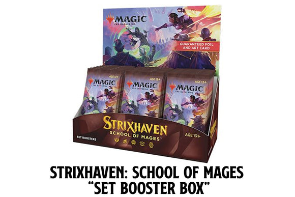 Magic - Strixhaven Set Booster Box *PREORDER*