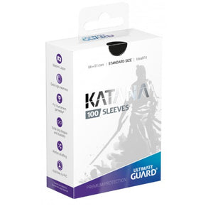 Ultimate Guard Sleeves Katana 100-Count - Black