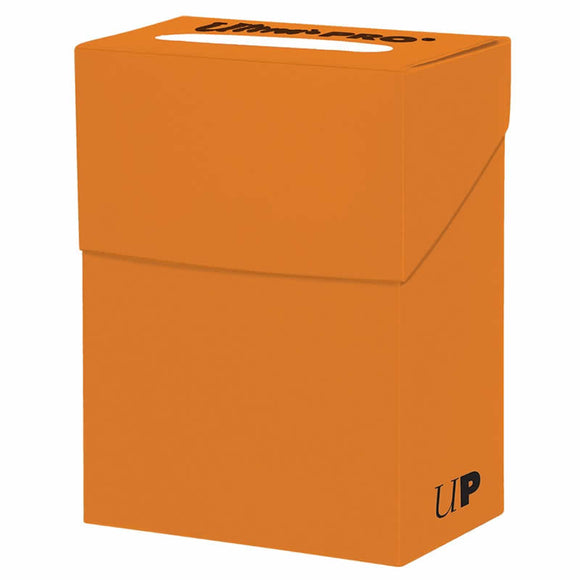 Ultra Pro Deck Box - Pumpkin Orange