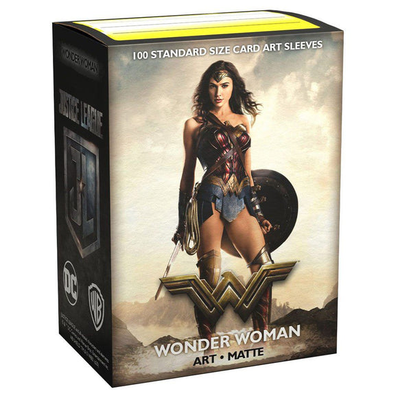 Dragon Shield 100ct Matte DC Justice League Matte Art Wonder Woman