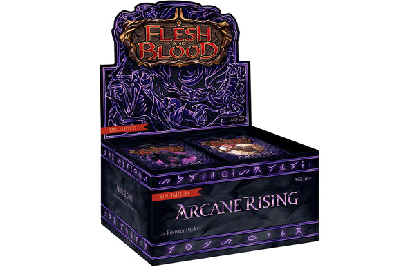 Flesh and Blood - Arcane Rising Booster Box *UNL*