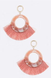 Trixie Fan Tassel Earring