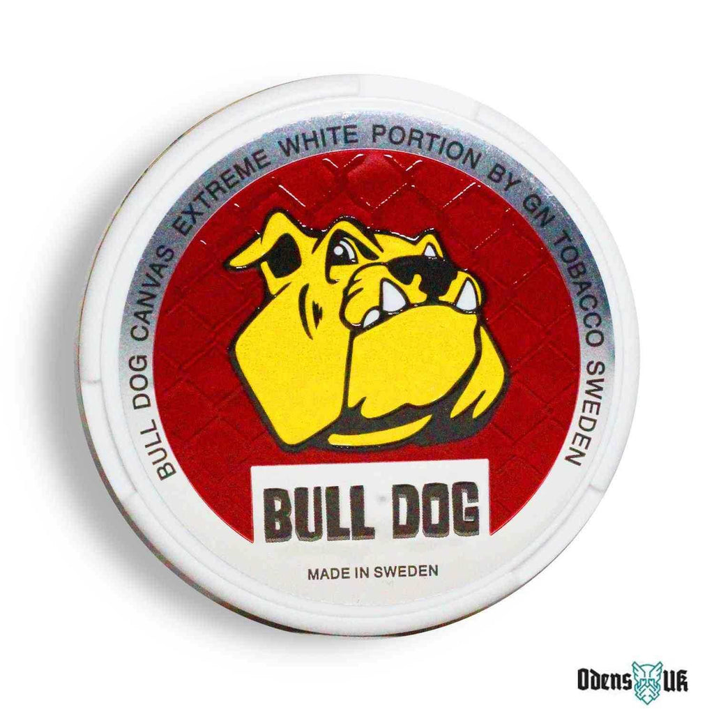 Bull Dog Canvas Extreme White - OdensUK