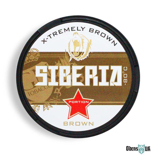 Siberia -80 Degree Brown Portion - OdensUK