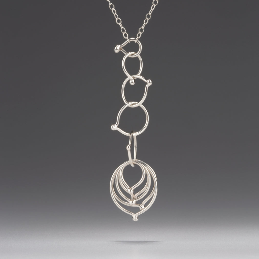 In Orbit: Multi-Length, Single/Double Layer Loop Necklace