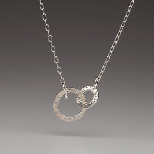Forged: Double Circle Linked Necklace