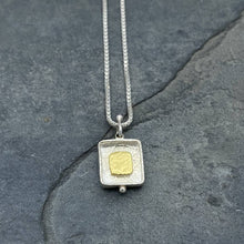 Load image into Gallery viewer, Gilded: Framed Square/Reversible Necklace