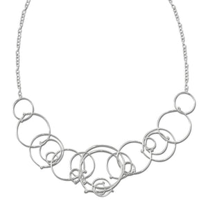 In Orbit: Multi-Loop Necklace