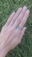 Load and play video in Gallery viewer, Asymmetrical Bars: Sterling Silver Ring