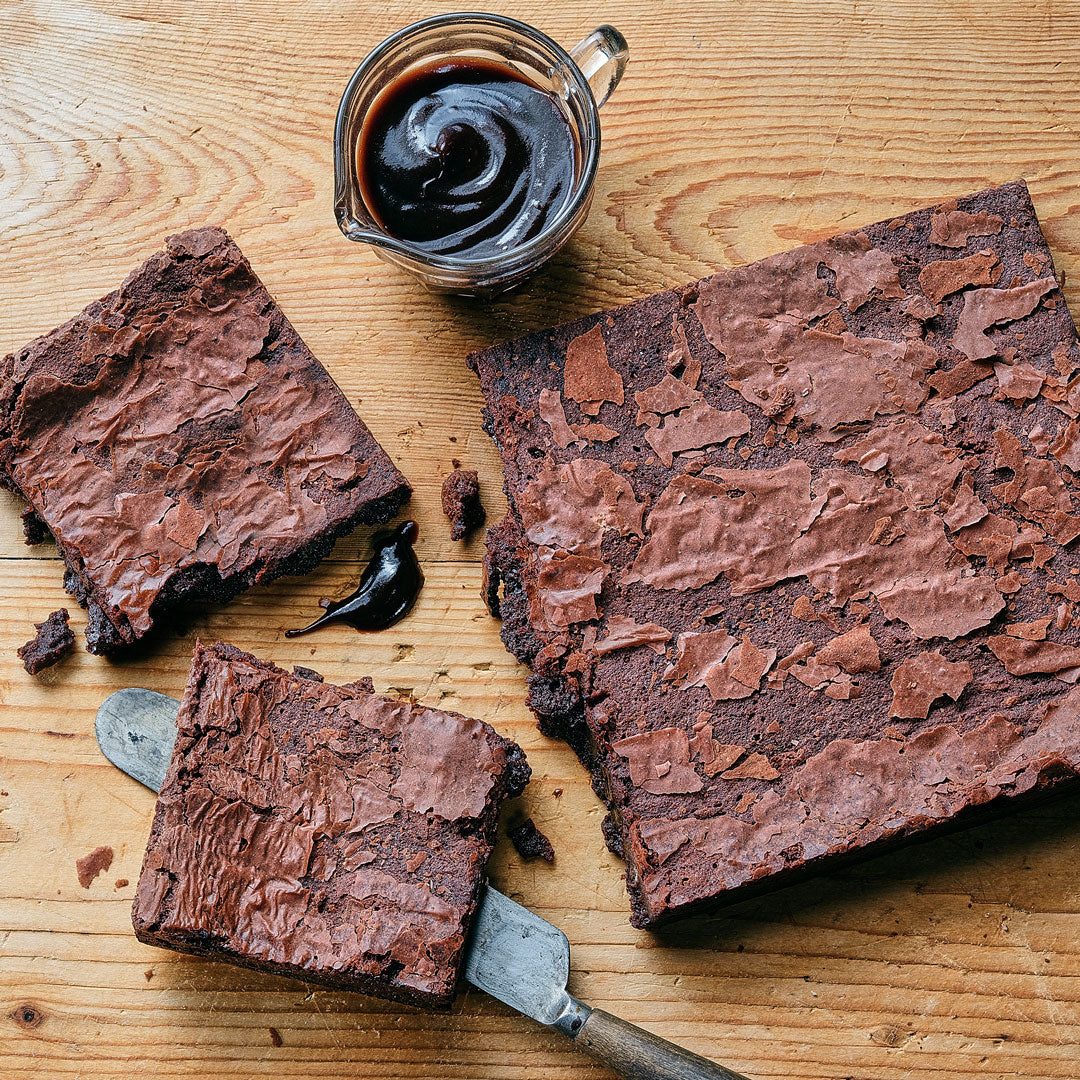 Belgian Chocolate Brownies - Small Traybake Gift Box