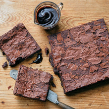 Load image into Gallery viewer, Belgian Chocolate Brownies - Small Traybake Gift Box