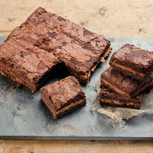 Load image into Gallery viewer, Salted Caramel Brownies - Large Traybake Gift Box