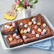 Load image into Gallery viewer, Mini Egg Salted Caramel Brownies - Small Traybake Gift Box