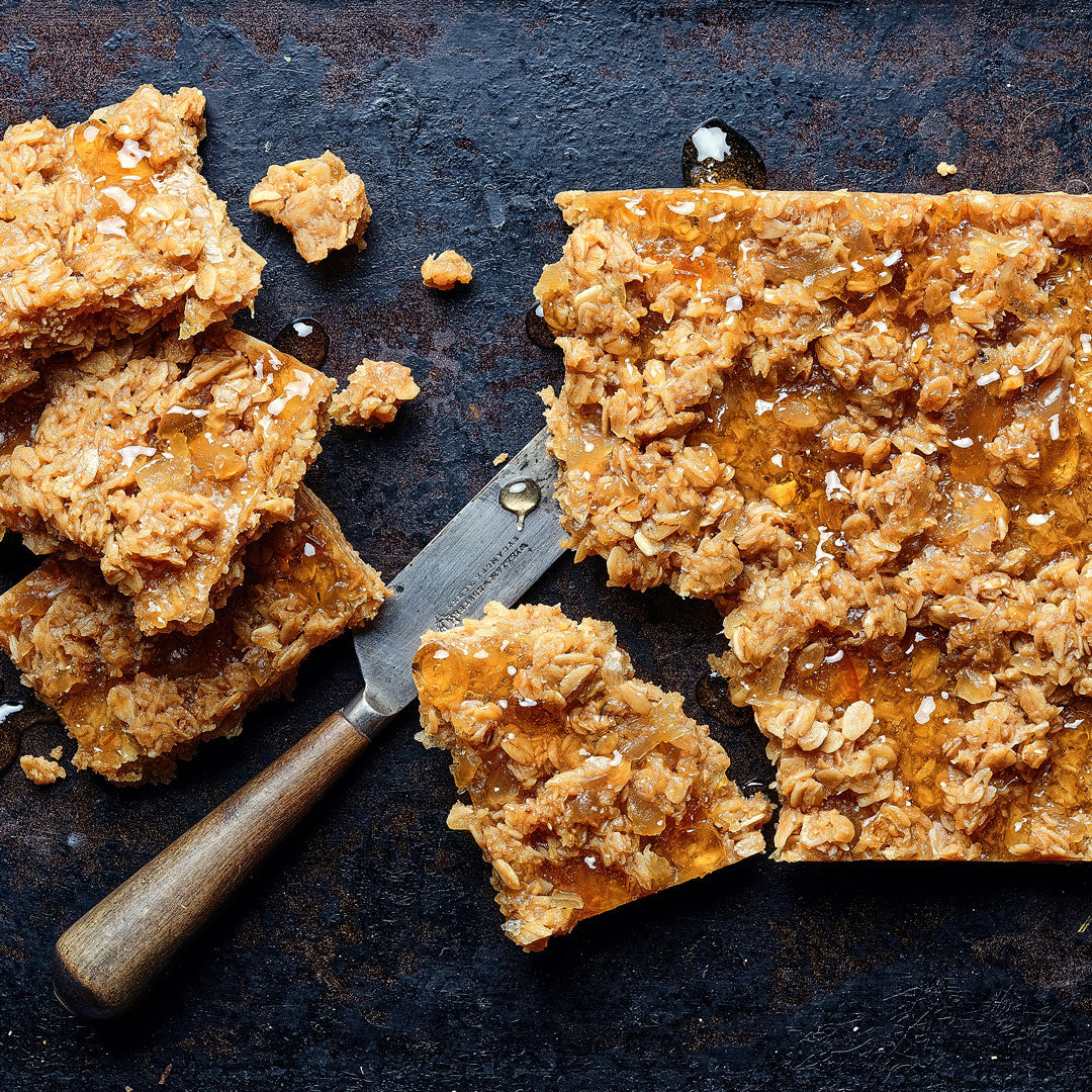 Marmalade and Ginger Flapjack - Small Traybake Gift Box
