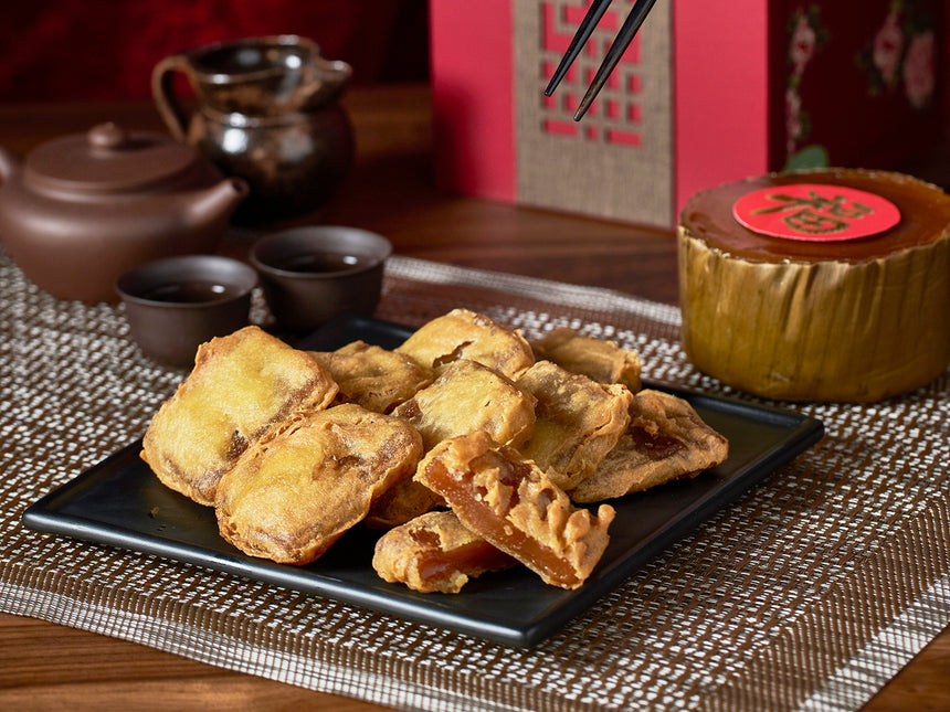 Battered Nian Gao 黏黏糕
