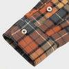 Gino Twill Flannel Plaid - Orange/Grey