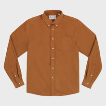 Gino Twill Flannel - Burnt Orange