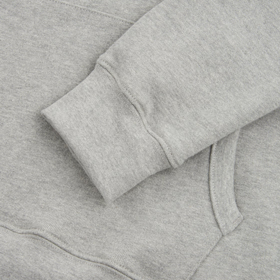 Kota Hoodie -20oz Organic Terry - Heather Grey