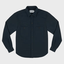 Leon Over Shirt - Navy