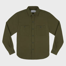 Leon Over Shirt - Green