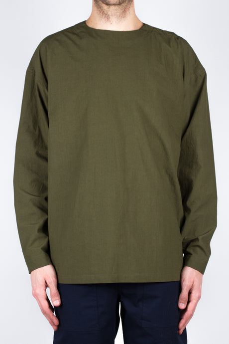 Marco Dyed Poplin - Olive