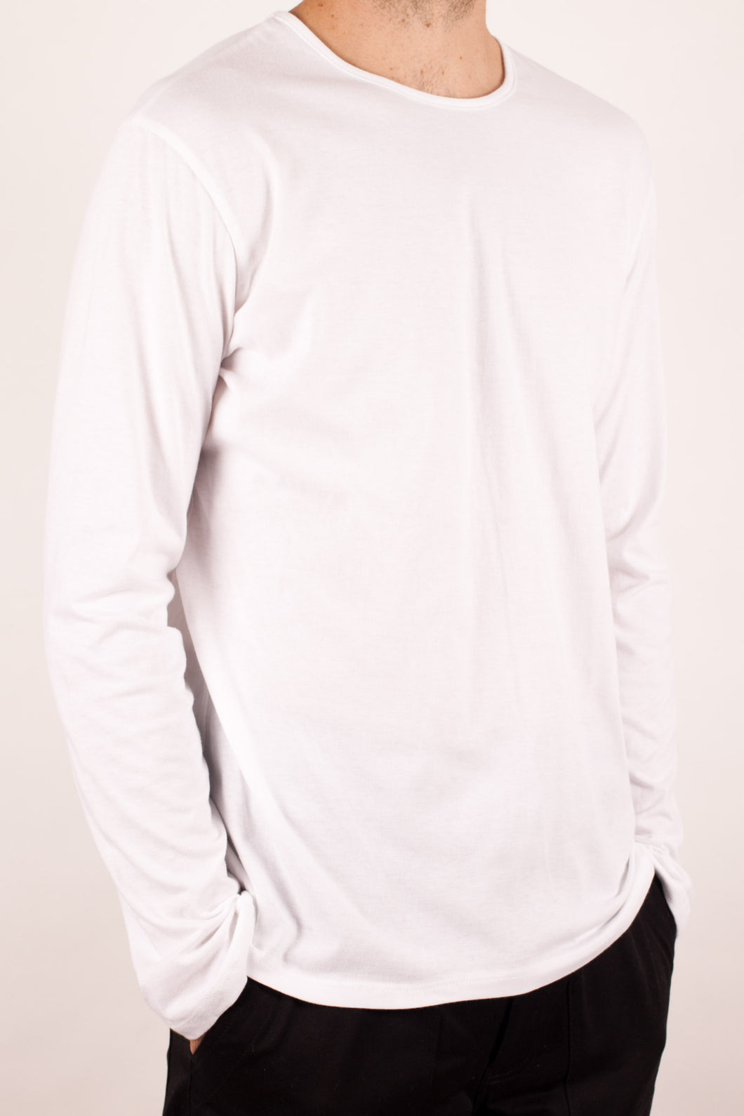 Stevie Long Sleeve in White