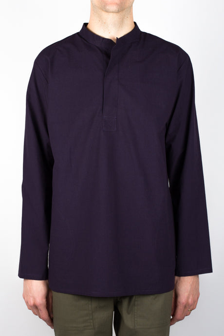 Rafa Dyed Poplin - Purple