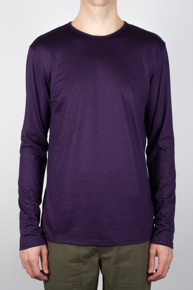Stevie Merino Long Sleeve - Purple