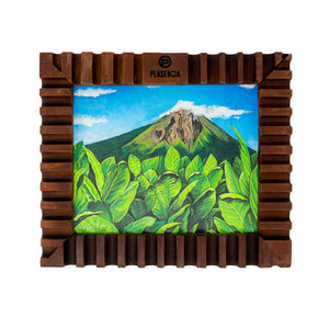 Nicaragua, Ometepe Volcano Small Painting 12.5in  x 10in