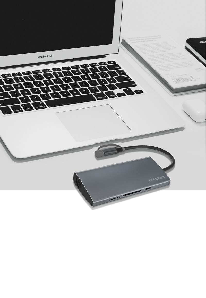 EXPAND MAX: 8-in-1 USB-C Hub