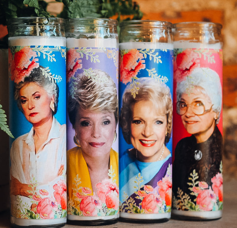The Golden Girls Candle Collection