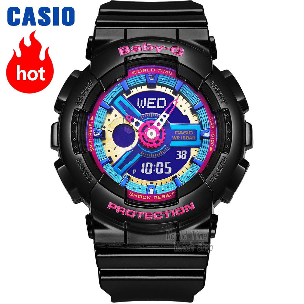 Casio watch g shock women watches top luxury set display ladies watch 100m Waterproof LED digital Quartz watch women reloj mujer